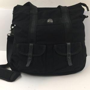 Lululemon Large Black Travel Gym Yoga Tote Bag